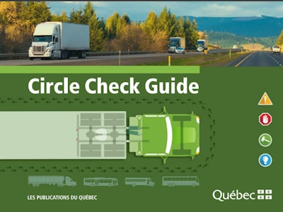Circle check for Truck and Buses SAAQ