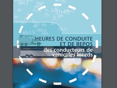 Document des heures de conduite et repos SAAQ