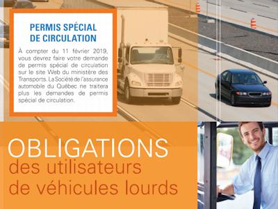 Document PDF Obligations des utilisateurs de véhicules lourds