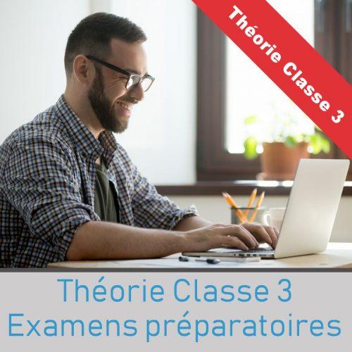 Simulateur examen theorique SAAQ Classe 3